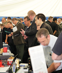 The last to take place in a 'Dedicated Exhibition Centre', the 2011 Open Day saw the event finally outgrow Target HQ.